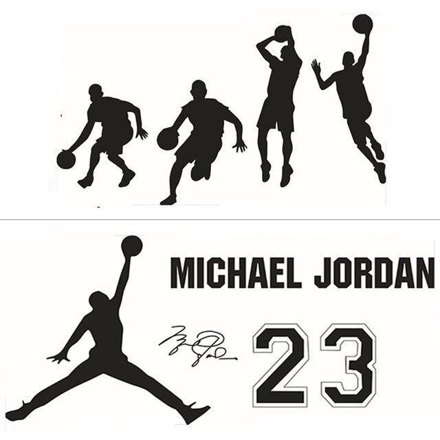 Player Jordan Quotes Wall Decals Basketball Sport