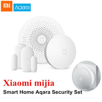 Xiaomi Aqara Mijia Smart Home Security Set Wireless Switch Window Door Sensor Multifunctional Gateway