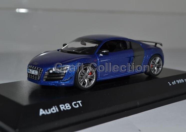 ФОТО 1:43 Luxury Car Model AUDI R8 GT Coupe Diecast Model Car 3 Colors Classic Toys Car Replica