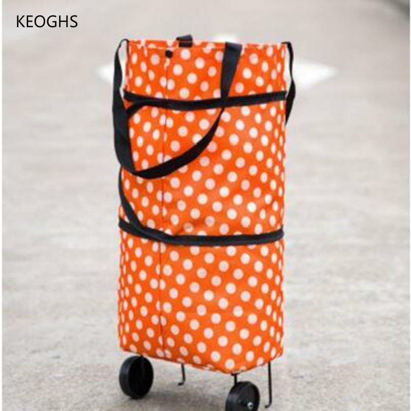 RED Dot portable luggage carts folding cart carretillas de transporte plegable folding luggage cart FREE SHIPPING