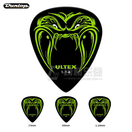 Dunlop Hetfield Black Fang Pick Plectrum Mediator Designed for James Hetfield Made from Ultex material электрогитара ltd james hetfield snakebyte metallica