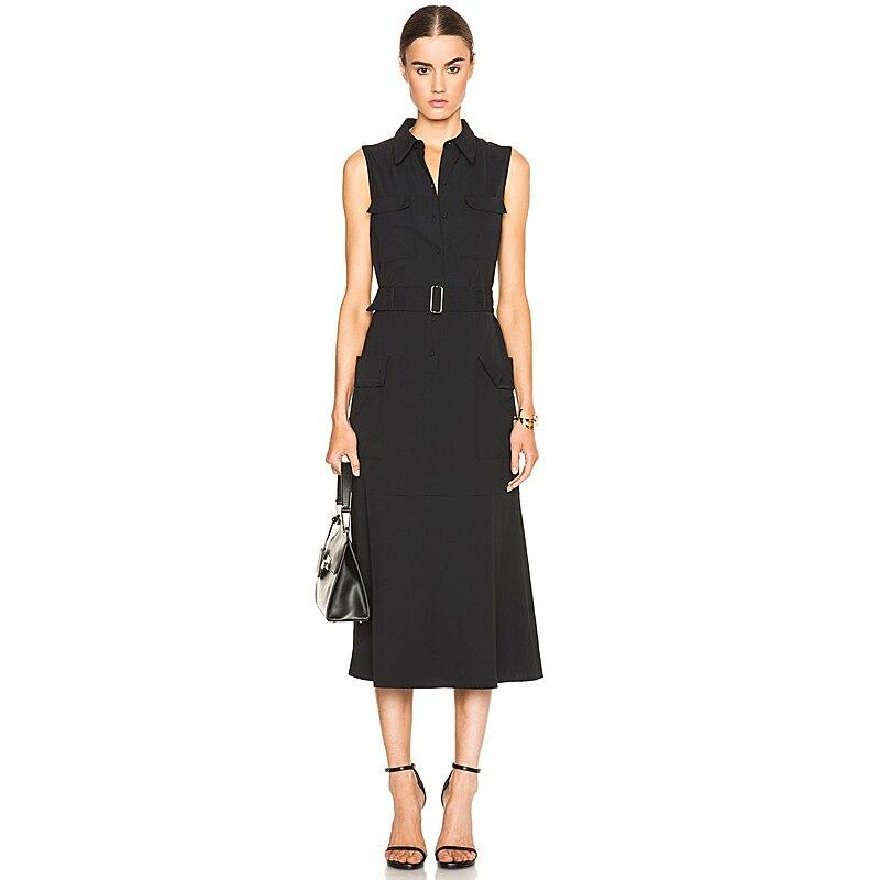 Long Dress Milan Runway High Quality 2020 Summer New Women ...