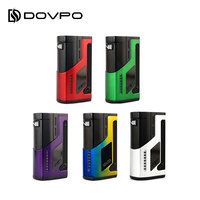 Original DOVPO VEE VV Box MOD with Adjustable Voltage Range & LED Battery Level Indicator E cig Vape Mod No 18650 Battery