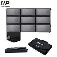 Все Мощность S Портативный 5 В 12 В 18 В 60 Вт USB солнечных батарей Панель Мощность банк кемпинг складной солнечный Зарядное устройство для iPhone м