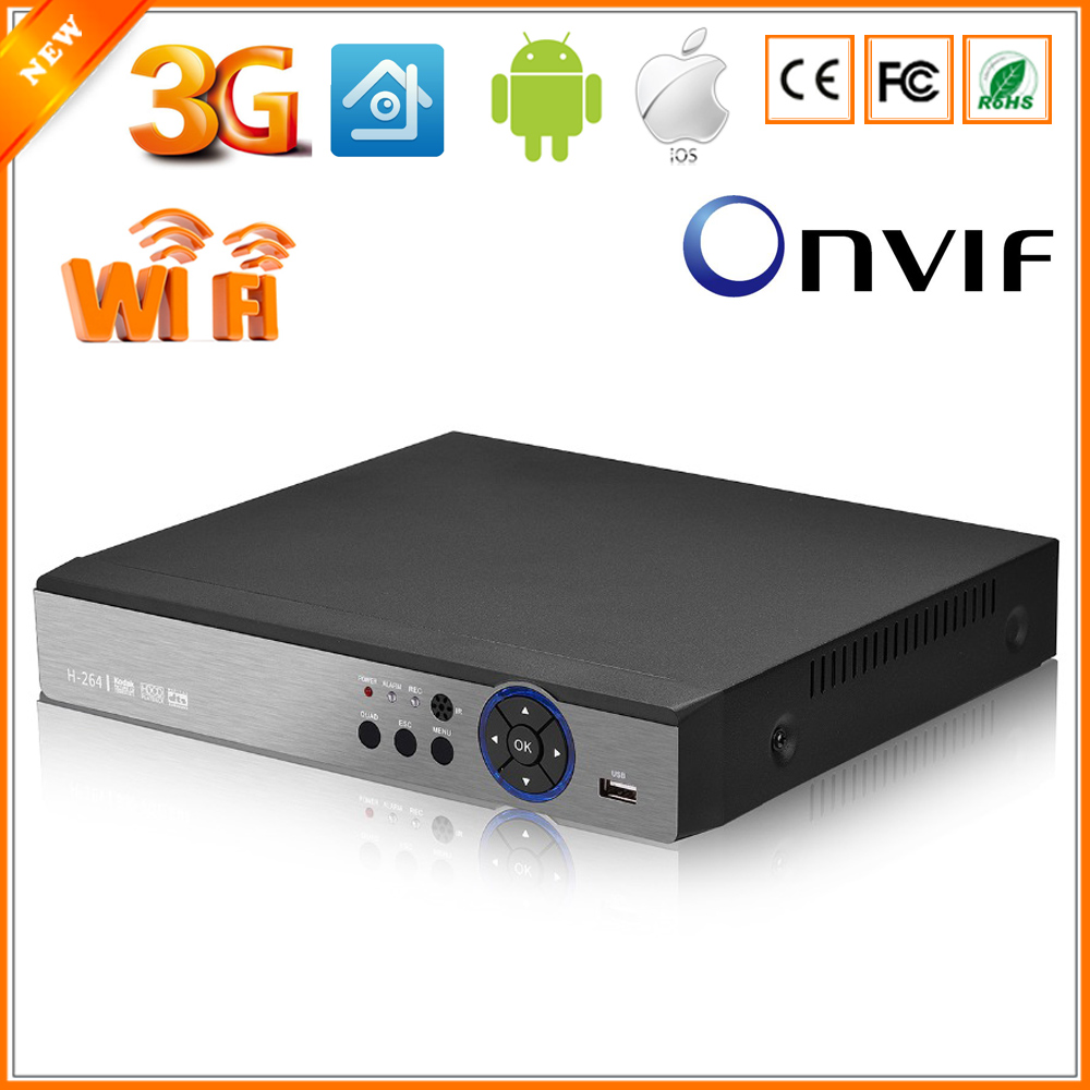 BESDER 5 in 1 Security CCTV DVR 4MP For AHD CVI TVI Analog IP Camera 4MP