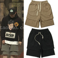 High Quality GD Casual Shorts Angel Fear of God Kanye West Men Women Justin Bieber High Street City Boy Korea Casual Shorts