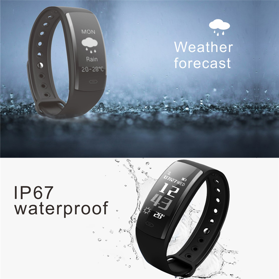 Diggro QS90 Blood Pressure Smart Bracelet Heart Rate Monitor Blood Oxygen Monitor IP67 Fitness Tracker for Andriod IOS VS QS80 14