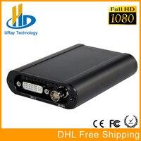 ที่ดีที่สุดHD 1080จุดHD 3กรัมSDI + HDMI + VGA + YPbPr + DVIจับภาพDongleสดสตรีมมิ่งวิดีโอการ์ดจับภาพ