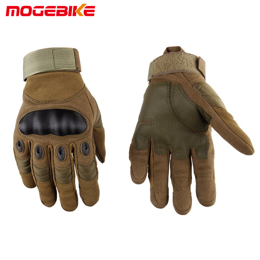 MOGEBIKE Mens Women Winter Gloves Sports Outdoor Full Finger gloves Motorcycle Gloves Sport Racing Motorbike Cycling Gloves