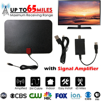 Indoor Free TV Fox HD Digital TV Antenna TVFox HDTV Antena DVB T DVB T2 HD