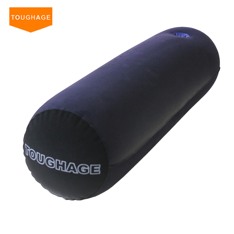 Toughage Multifunctional Sex Magic Cushion Sofa Sex Hold Pillow Pad Bed Sex Toys Inflatable Sexual Position Furnitures toughage sex furniture for couples portable inflatable luxury pillow sexual position cushions adult sex bed helpful sex sofa pad