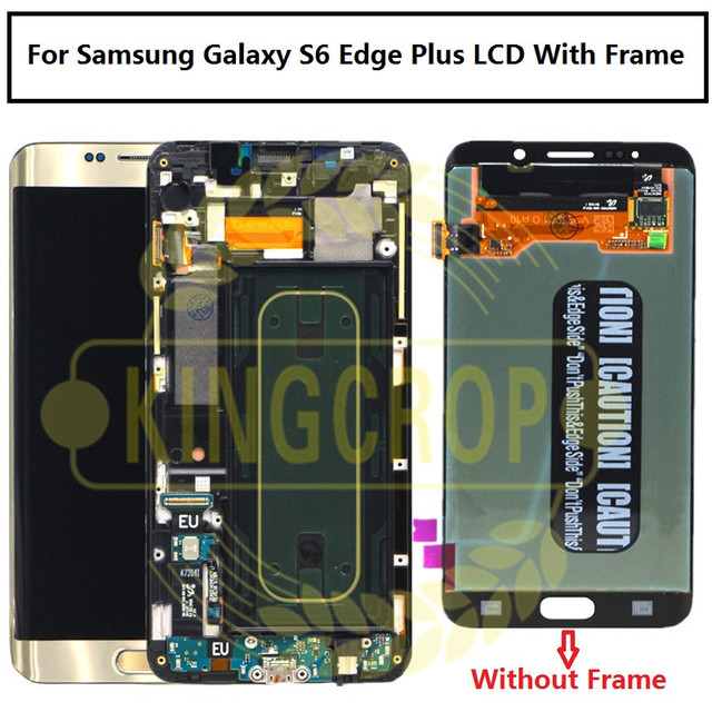 US $88 0 |For Samsung Galaxy S6 Edge Plus LCD G928 G928F Display Touch  Screen Assembly Replacement For 5 7