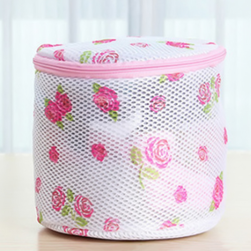 2019 New Arrival Convenient Bra Lingerie Wash Laundry Bags Home Using Clothes Washing Net Basket Bag Zipped Wash Bag BTZ1(China)