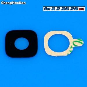 ChengHaoRan задняя камера стеклянный объектив с наклейкой для Samsung Galaxy J1 J3 J5 J7 J320 J4 J6 J8 A3 A5 A7 A6 A8 Plus A9 Star