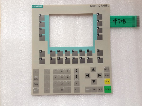 Membrane keyboard for 6AV6542-0BB15-2AX0 for SlEMENS HMI OP170B NEW KEYPAD,Membrane switch, simatic op170b HMI keypad ,IN STOCK a86l 0001 0288 1pc membrane keypad new fast ship in stock 6 button or 12 button