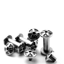 Shank screw pair lock nut screw stainless steel tack head cutter rivet folding knife spindle screw 4pcs корпус электростандарт щмп 1 1