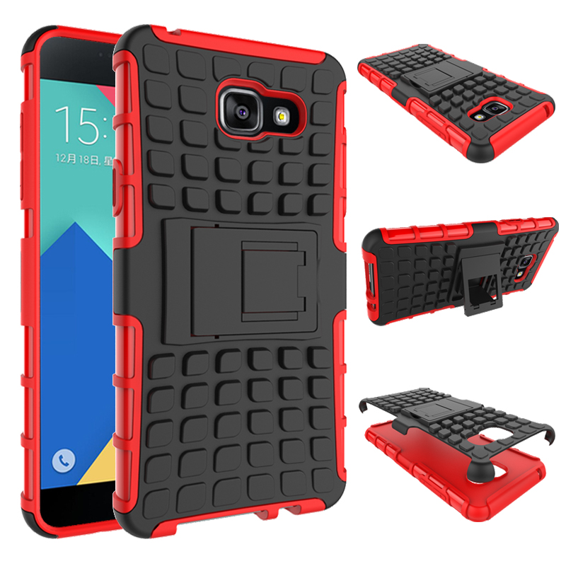 For Samsung Galaxy A7 2016 Case A710 A710F Heavy Duty Armor Shockproof Hard Silicone Phone Case For Samsung A7 2016 Cover