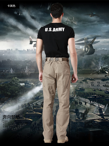 Airsoft Gear TAD Tactical Cargo Pants Men SWAT Training Multi-pockets Trousers Outdoor Cotton Sports Military Army Pant