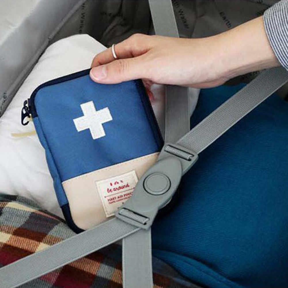 1PC Portable Outdoor Travel First Aid kit Medicine bag Home Small Medical box Emergency Survival Pill Case S/L