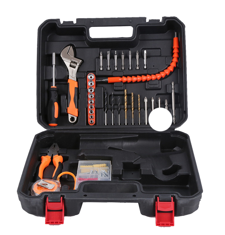 Urijk Durable Hand Tool Set Screwdriver Combination Pliers Home Tool Kit Car Tools For Auto Repair Wrench Digital Electric Test hot combination socket set ratchet tool torque wrench to repair auto repair hand tools for car kit a set of keys yad2001