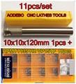 11pcs/set BAP300R 10*10*120mm 1 flutes CNC Milling Cutter bar 1pcs + 10pcs APMT1135 H2 VP15TF CNC Carbide insert  Free shipping