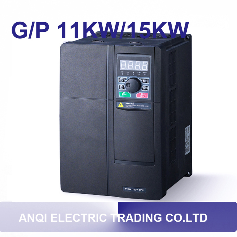 G/P 11kw/15kw VFD 3PH 380v variable frequency drive 0-600HZ frequency converter ac drive for plastic mill air conditioning etc. панель декоративная awenta pet100 д вентилятора kw сатин