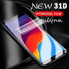 New 31D Full Protective Hydrogel Film For Huawei P Smart Plus Mate 20 10 P30 Pro Lite Honor 8X 8A Screen Protector Soft
