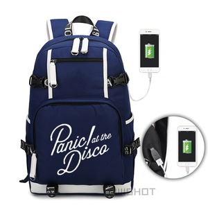 Image 4 - WISHOT パニックでディスコバックパック多機能 USB 充電旅行バッグティーンエイジャーのための子供のバッグ発光