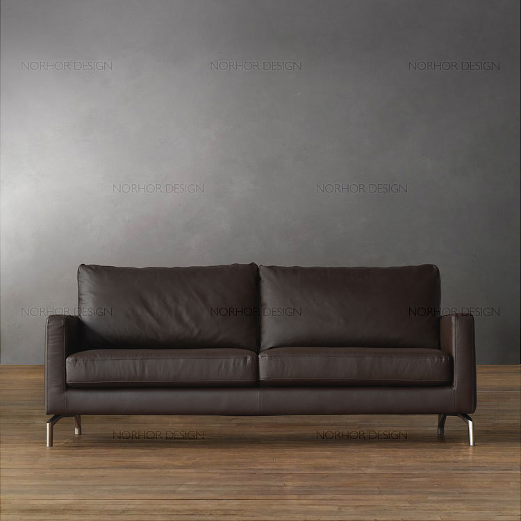 30 Off Promotion Nordic Expression Clic Modern Minimalist Bauhaus Leather Sofa Tailor In Hotel Sofas From Furniture On