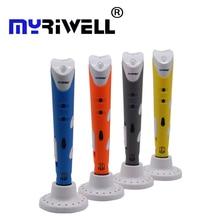 Myriwell 3D ручка Творческий 3D печать ручки разведки рисования 3D принтер ручки с ABS накаливания 3D лучший подарок для детей принтер