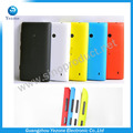 Nuevo Color del caramelo de la batería contiene la contraportada puerta de la caja + botones para Nokia Lumia 520 tapa de la batería cubierta envío gratis