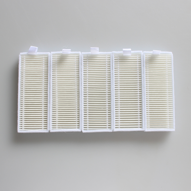 5 pieces/lot Robot Vacuum Cleaner HEPA Filter for Seebest D730 D720 D750 Robotic Vacuum Cleaner Parts крышка roca dama senso compacto лакированная для биде стальные крепления 806511004