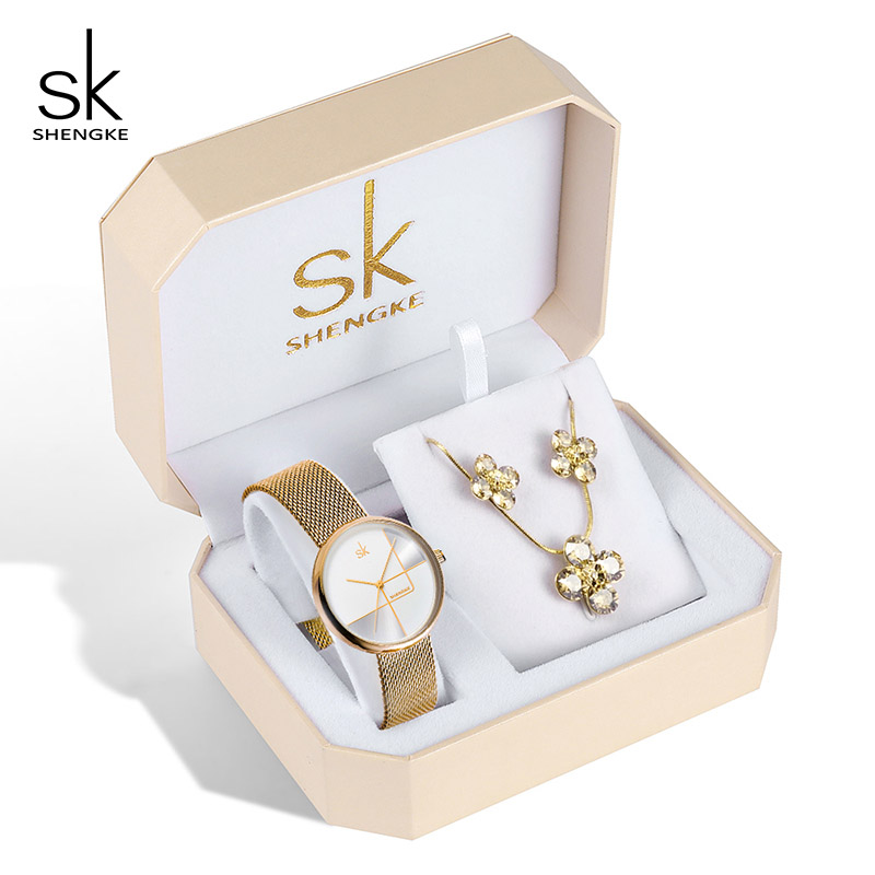 K0105 gold watch set