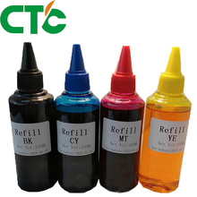 4 x 100ml Universal Compatible Refill Dye Ink Bottle kit For HP for Canon Brother Epson Lexmark DELL Kodak