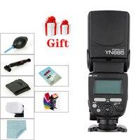 Беспроводная вспышка YONGNUO YN685 YN 685  2 4G HSS  TTL/iTTL для Canon Nikon  поддержка YN560IV  YN560-TX  RF605  YN685C  YN685N