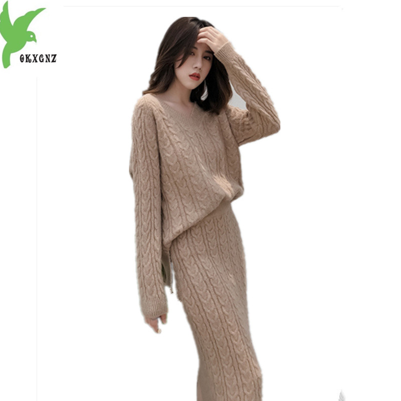 2019 New Summer Women Ice Silk Striped Knit Pullover Top+wide Leg Pants Suits Knitted Half Sleeve Calf-length Trousers 2pcs Set Elegant In Style Women's Clothing Suits & Sets