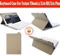 Layout de Teclado Bluetooth Caso Para Teclast Original Língua Local TBook11 TBook 11 X16HD X16 Plus Tablet PC Com Free 5 presentes