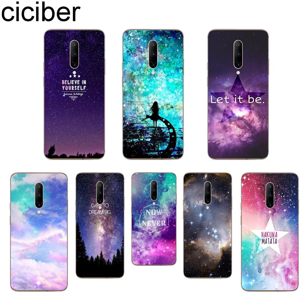 ciciber Starry sky Phone Case For font b Oneplus b font font b 7 b font