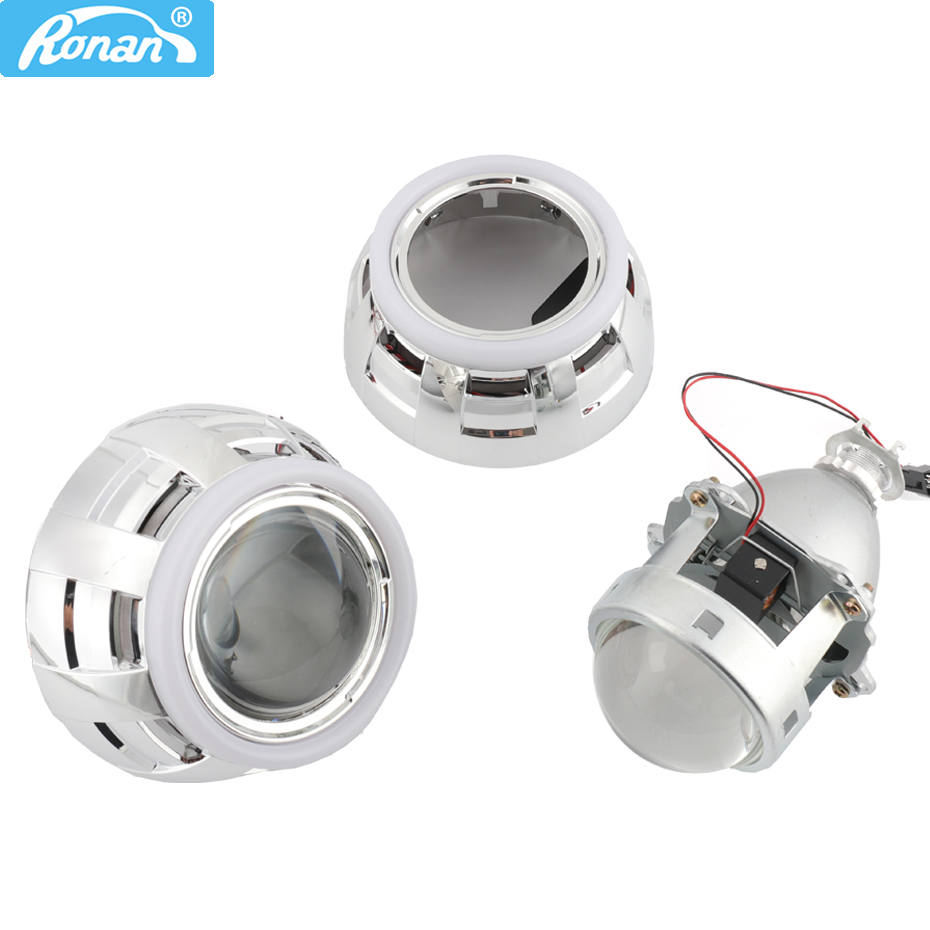 RONAN 3 0 Full metal pro HID Bi xenon headlight Lens H1 H4 H7 LED Angel