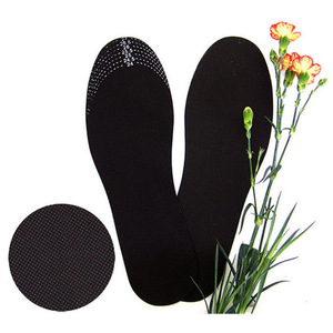 Image 2 - 5Pairs/Lot Unisex Bamboo Charcoal Shoe Insoles Odor Removal Deodorant Cushion Foot Inserts Shoe Pads Healthy Insoles Women 1Pair