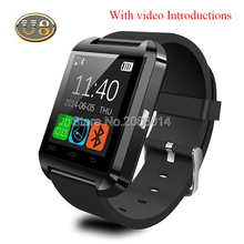 Bluetooth uhr u8 smart watch armbanduhr smartwatch digitale sportuhren für apple ios android phone wearable elektronische