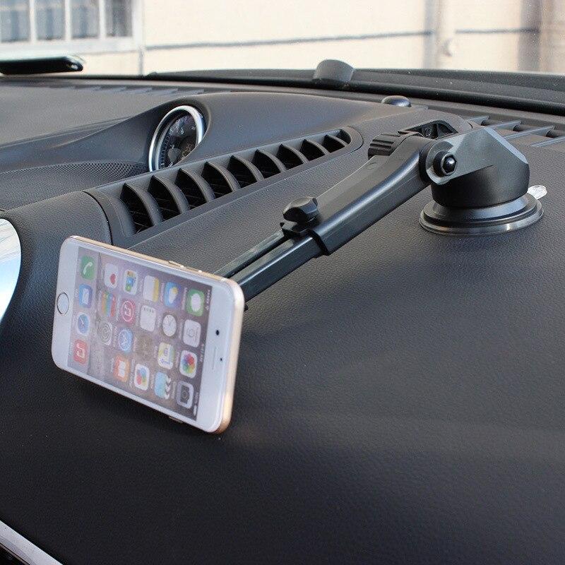Voiture bras télescopique aimant téléphone stand de voiture instrument tableau sucker mobile téléphone cadre de navigation support universel modèles