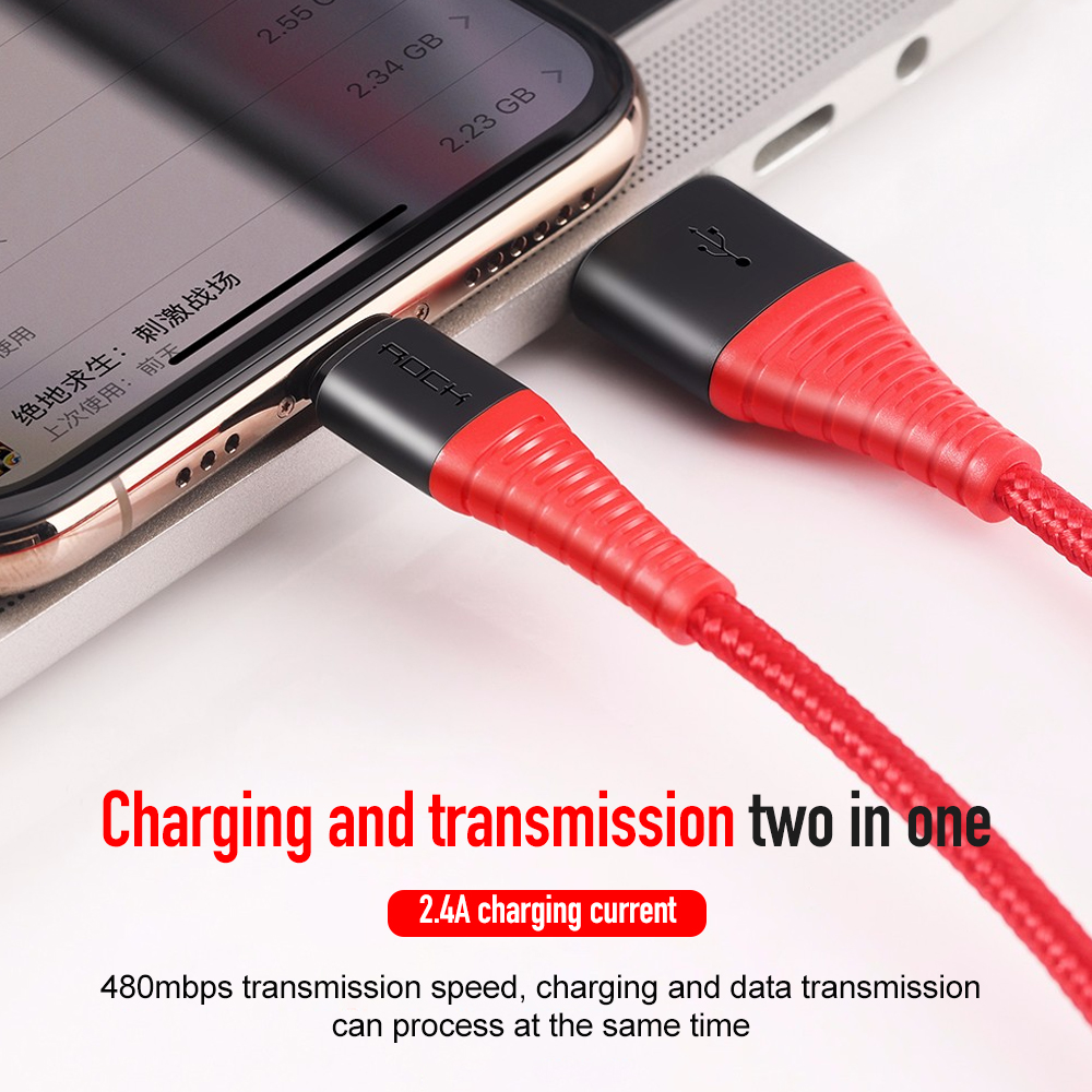Image 5 - 10PCS Hi Tensile USB Cable For Micro USB 3A Fast Charger-in Mobile Phone Cables from Cellphones & Telecommunications