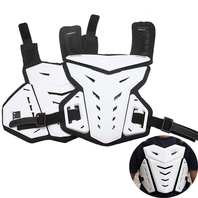 POSSBAY Motocross Professional Armor White Off Road Armor Racing Motorcycle Armors Jacket Protective Jacket Gear For Scoyco Bike scoyco motocross armor off road motorcycle outdoor riding full protective gear cross country armor body am02