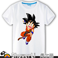 Cotton short sleeve children t shirts,cute cartoon,game boys girls t-shirt figure kids wear  new summer dragon ball wukong