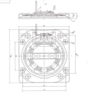 Image 5 - Heavy duty obrotowy z 4 way siedzenia samochodowe gramofony data data powrotu (RV krzesło obrotowa podstawa Mpv siedzenia podstawka obrotowa