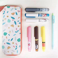 0.5mm Mini Handy Cartoon Ink Gel Pen Cute Creative Totoro Doraemon Line Friend Pens For School&Office Stationery