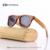 2017 Nuevas gafas de Sol de Los Hombres De Madera De Bambú gafas de Sol Mujeres Diseñador de la Marca Original Espejo gafas de Sol de Madera gafas de sol masculino