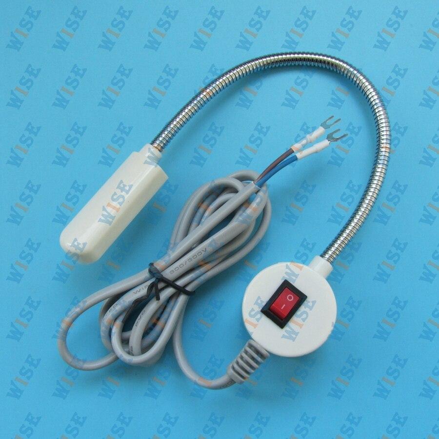 JUKI, BROTHER,110-220 10 LED LIGHT 3-D FLEX MAGNETIC BASE SHOP / WORK BENCH MA #TD-10 110-220V