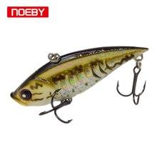 Noeby Wobblers 7.5cm vib Lure for Carp Fishing Hard Baits Sinking Jerkbait Treble Hook Tackle